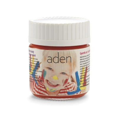 Aden Body & Finger Paint red 30 ml