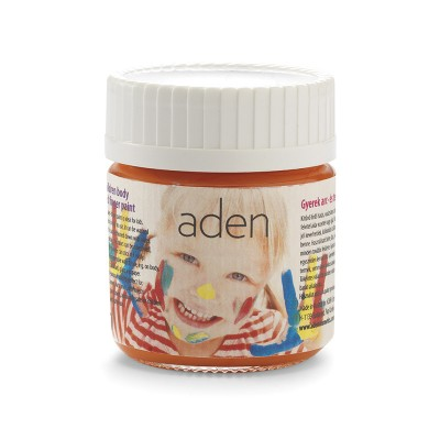 Aden Body & Finger Paint orange 30 ml