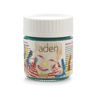 Aden Body & Finger Paint green 30 ml