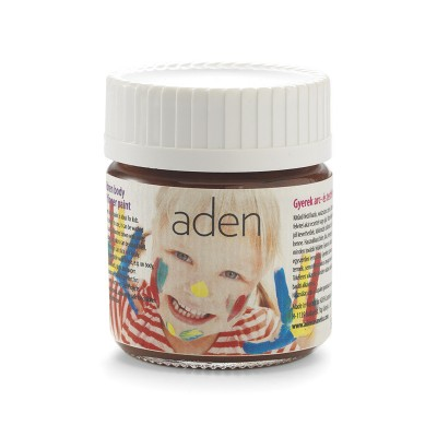 Aden Body & Finger Paint brown 30 ml